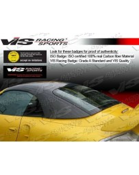 VIS Racing 1999-2005 Porsche 2Dr Oem Style Carbon Fiber Hard Top