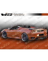VIS Racing Carbon Fiber Spoiler Euro Tech Style for Ferrari F 430 2DR 05-08