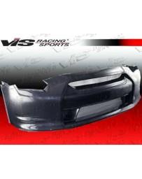 VIS Racing 2009-2015 Nissan Skyline R35 Gtr 2Dr Oem Style Carbon Fiber Front Bumper