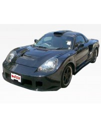 VIS Racing 2000-2005 Toyota Mrs 2Dr Techno R Wide Body Kit