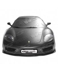 VIS Racing 1999-2004 Ferrari F360 Vip Front Bumper
