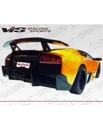 VIS Racing 2002-2010 Lamborghini Murcielago 2Dr Viper Rear Bumper