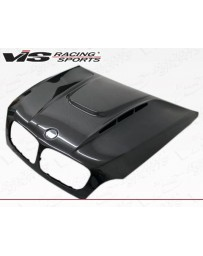 VIS Racing Carbon Fiber Hood EVO GT Style for BMW X6 (E71) 4DR 08-13