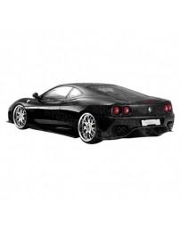 VIS Racing 1999-2004 Ferrari F360 Vip Rear Bumper