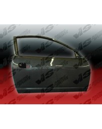 Carbon Fiber Door OEM Style for Acura RSX 2DR 02-06