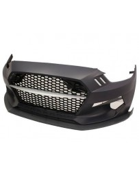 VIS Racing 2015-2017 Ford Mustang TMC Style Front Bumper Polypropylene