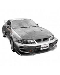 VIS Racing 1995-1998 Nissan Skyline R33 Gtr 2Dr Invader Gt Full Kit