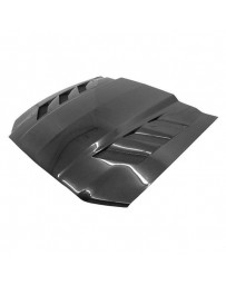 VIS Racing Carbon Fiber Hood AMS Style for Ford MUSTANG 2DR 13-14