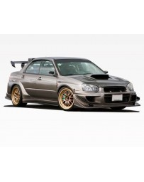 VIS Racing 2004-2005 Subaru Wrx 4Dr VRS Wide Body Full Kit