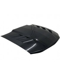 VIS Racing Carbon Fiber Hood AMS Style for Ford MUSTANG 2DR 10-12