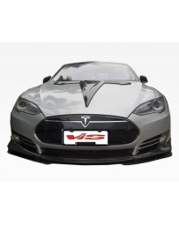 VIS Racing 2012-2015 Tesla Model S VIP Carbon Fiber Front Lip