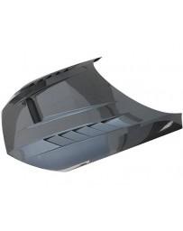 VIS Racing Carbon Fiber Hood DTM Style for AUDI A4 4DR 17-19