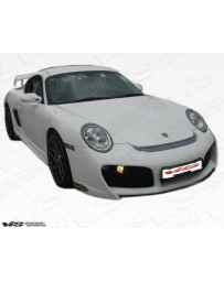 VIS Racing 2006-2013 Porsche Cayman 2Dr A Tech Gt Front Bumper With Lip