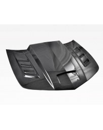 VIS Racing Carbon Fiber Hood Terminator Style for Chevrolet Camaro 2DR 10-15