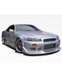 VIS Racing 1999-2004 Nissan Skyline R34 Gtr 2Dr Tracer Front Bumper