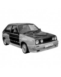 VIS Racing 1985-1992 Volkswagen Golf 2 2Dr Gt Widebody Full Kit