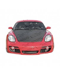 VIS Racing Carbon Fiber Hood OEM Style for Porsche Boxster 2DR 05-12
