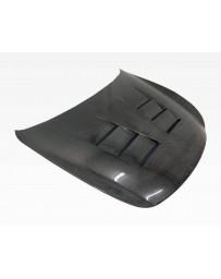 VIS Racing Carbon Fiber Hood Terminator Style for Infiniti Q60 2DR 14-15