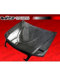 VIS Racing Carbon Fiber Hood Euro R Style for AUDI S4 4DR 05-08