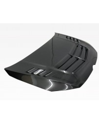 VIS Racing Carbon Fiber Hood VST Style for Volkswagen Golf 7 2DR & 4DR 15-16