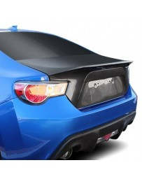 VIS Racing Carbon Fiber Trunk Demon Style for Subaru BRZ 2DR 13-17