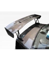 VIS Racing Carbon Fiber Spoiler VTX Style for Mitsubishi Evo8 4DR 03-07