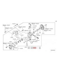 370z Nissan OEM Power Steering Pump Rebuild Seal & Gasket Kit