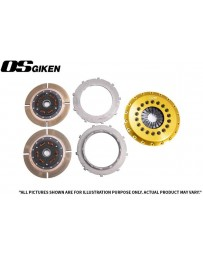 OS Giken TR Twin Plate Clutch for Mitsubishi CZ4A Evo X - Overhaul Kit B