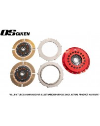OS Giken STR Twin Plate Clutch for Mitsubishi CZ4A Evo X - Overhaul Kit B
