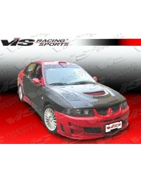 VIS Racing 1997-2001 Mitsubishi Mirage 4Dr Rally Wide Body Full Kit