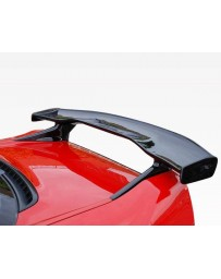 VIS Racing Carbon Fiber Spoiler M Speed Style for Acura NSX 2DR 91-07