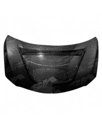 VIS Racing Carbon Fiber Hood V Line Style for Toyota Corolla 4DR 09-13