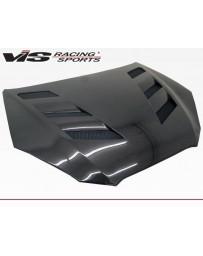 VIS Racing Carbon Fiber Hood AMS Style for Hyundai Genesis 2DR 10-12