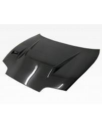 VIS Racing Carbon Fiber Hood V Line Style for Toyota Supra 2DR 93-98