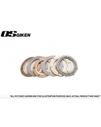 OS Giken R Triple Plate Clutch for Mitsubishi Z16A 3000GT - Overhaul Kit A