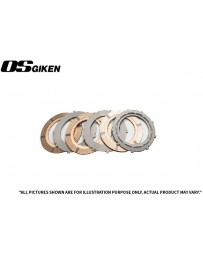 OS Giken R Triple Plate Clutch for Mazda RX-7(All)/RX-8 - Overhaul Kit A