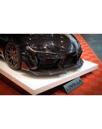 Toyota Supra GR A90 Carbon Front Bumper Lip