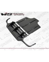 VIS Racing 2009-2011 Mercedes Sl R230 2Dr DTM Carbon Fiber Rear Diffuser
