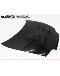 VIS Racing Carbon Fiber Hood Terminator Style for Toyota Supra 2DR 93-98