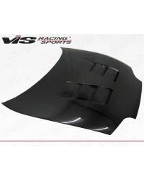 VIS Racing Carbon Fiber Hood Terminator Style for Toyota Supra 2DR 93-98