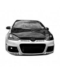 VIS Racing Carbon Fiber Hood Boser Style for Volkswagen Jetta 4DR 06-09