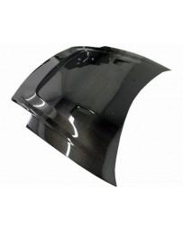 VIS Racing Carbon Fiber Hood JS Style for Mitsubishi Eclipse 2DR 00-05