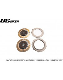 OS Giken R Twin Plate Clutch for Mitsubishi CP9A Lancer Evo 4-9 - Overhaul Kit A