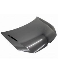 VIS Racing Carbon Fiber Hood KS Style for Volkswagen Golf 6 2DR & 4DR 10-14