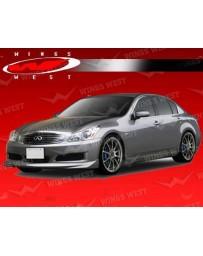 VIS Racing 2009-2010 Infiniti G37 Journey 4Dr Jpc Polyurethane Full Kit