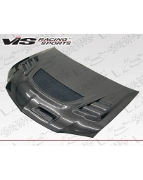 VIS Racing Carbon Fiber Hood G Speed Style for Mitsubishi EVO 8 4DR 03-05
