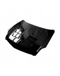 VIS Racing Carbon Fiber Hood Terminator Style for Infiniti G35 4DR 03-04