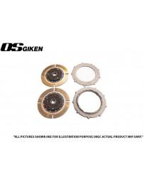 OS Giken TR Twin Plate Clutch for Subaru GC8 EJ20 Impreza - Overhaul Kit A