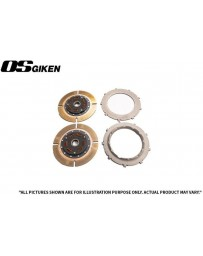 OS Giken STR Twin Plate Clutch for Subaru GC8 EJ20 Impreza - Overhaul Kit A