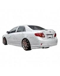 VIS Racing 2009-2010 Toyota Corolla 4Dr Fuzion Full Lip Kit Urethane
